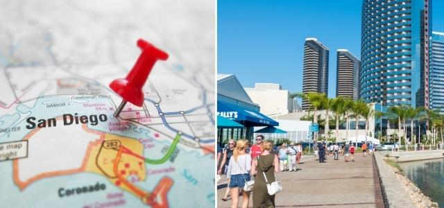 Attractions in San Diego