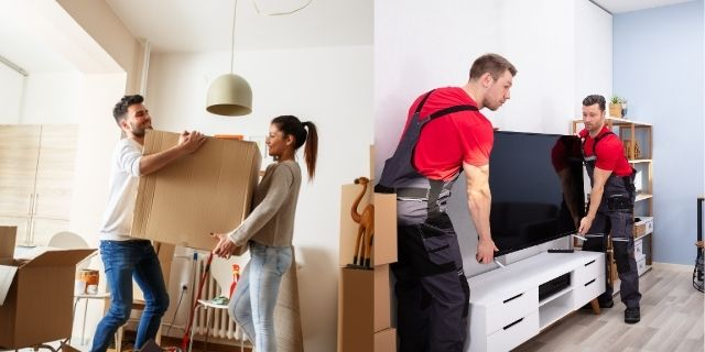DIY Moving Vs Professional Movers