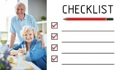 Checklist for Moving Elderly Parents