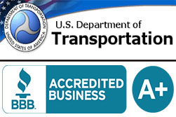 US DoT License And BBB Ratings